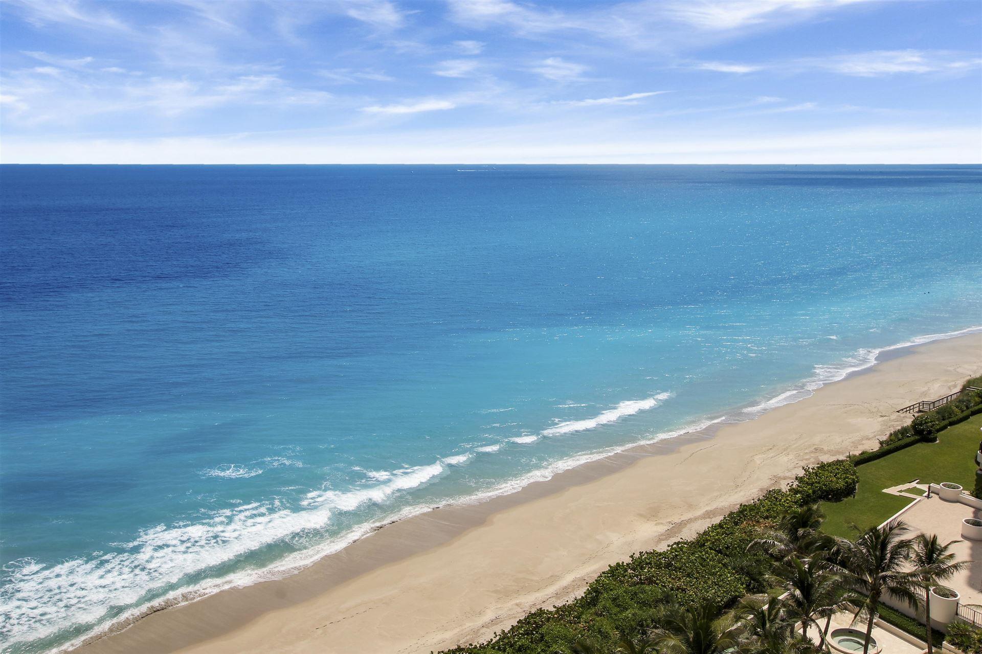 Photo of 5380 N Ocean Drive #14i, Riviera Beach, FL 33404 (MLS # RX-10657217)