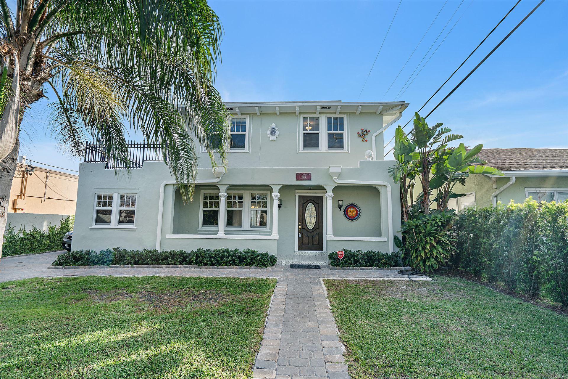 412 El Prado, West Palm Beach, FL 33405 - #: RX-10673217