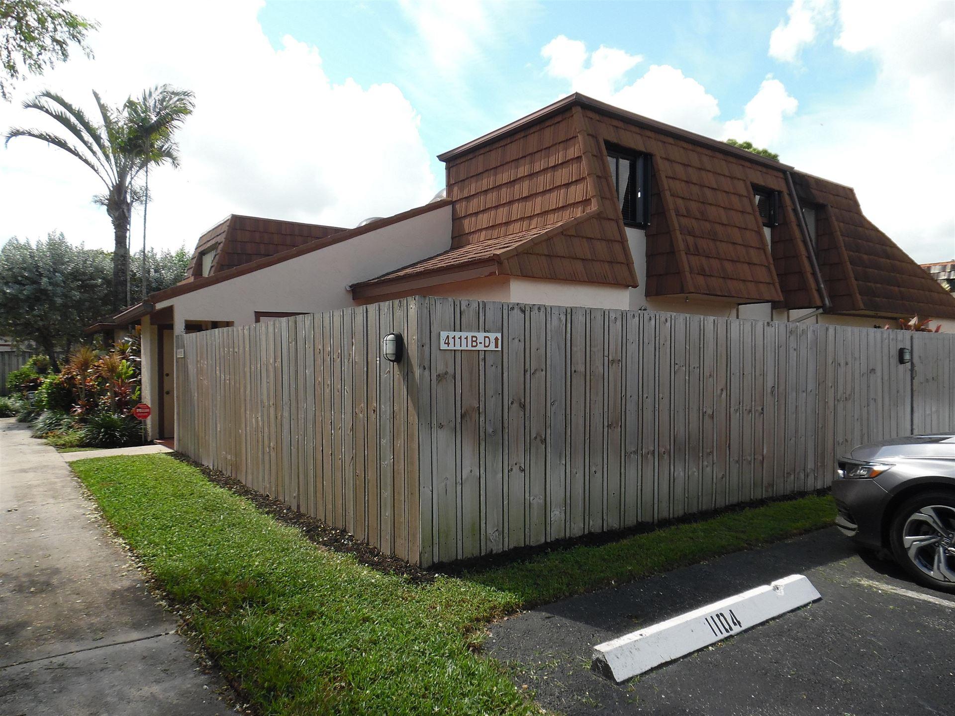 4111 Palm Bay Circle #B, West Palm Beach, FL 33406 - #: RX-10664219