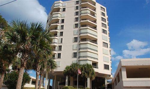 Photo of 3201 S Ocean Boulevard #703, Highland Beach, FL 33487 (MLS # RX-10698221)