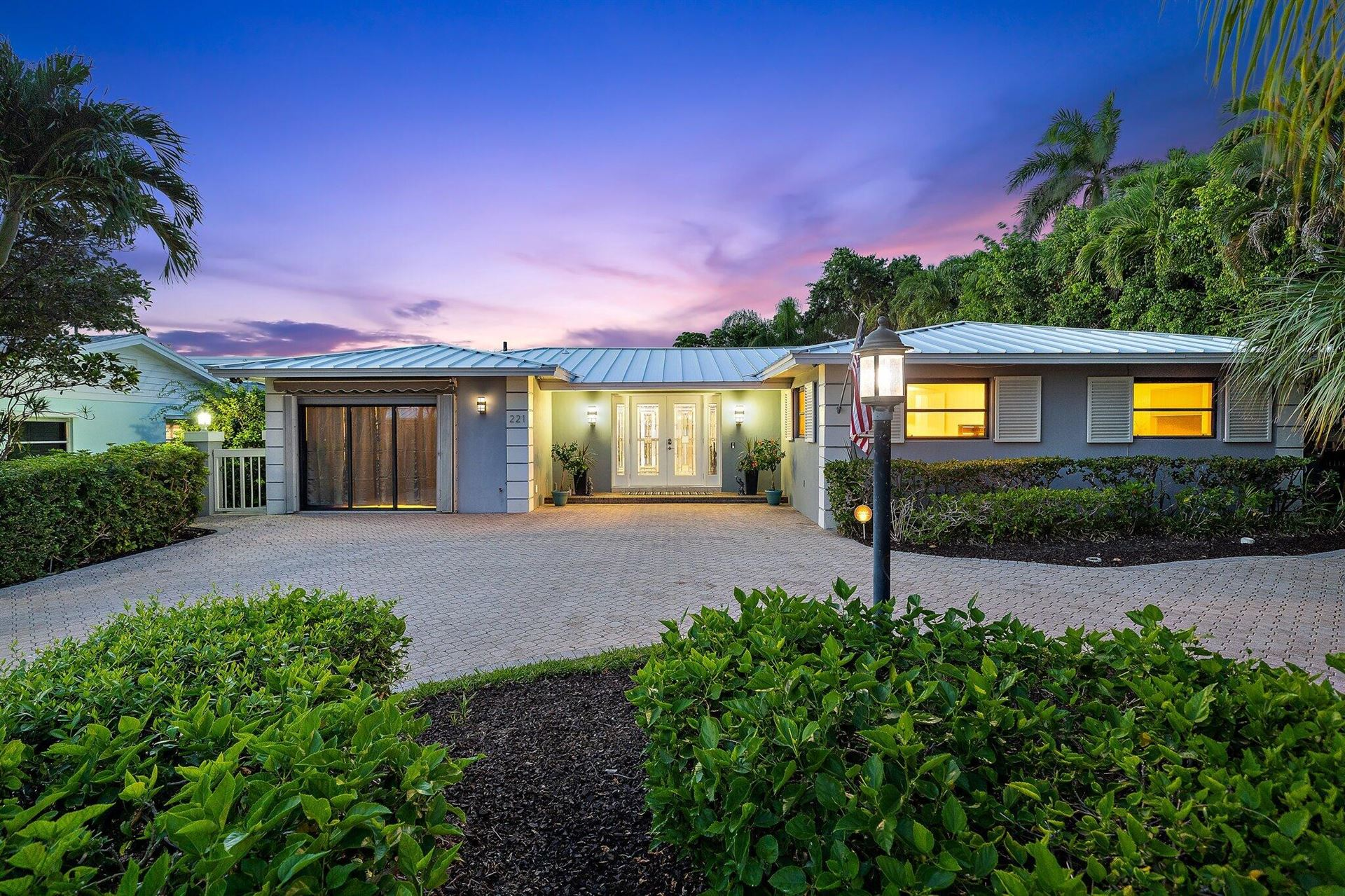 Photo of 221 Bamboo Road, Palm Beach Shores, FL 33404 (MLS # RX-10741221)