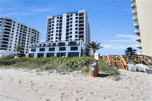 Photo of 3115 S Ocean Boulevard #402, Highland Beach, FL 33487 (MLS # RX-10595222)