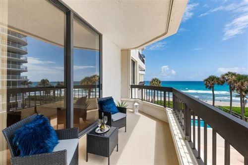 Photo of 3201 S Ocean 304 Boulevard #304, Highland Beach, FL 33487 (MLS # RX-10701223)