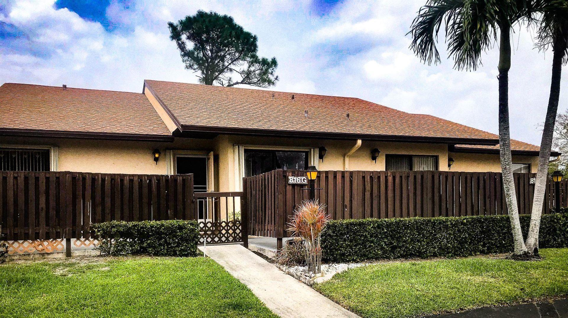 816 Sky Pine Way #G, Greenacres, FL 33415 - MLS#: RX-10711225