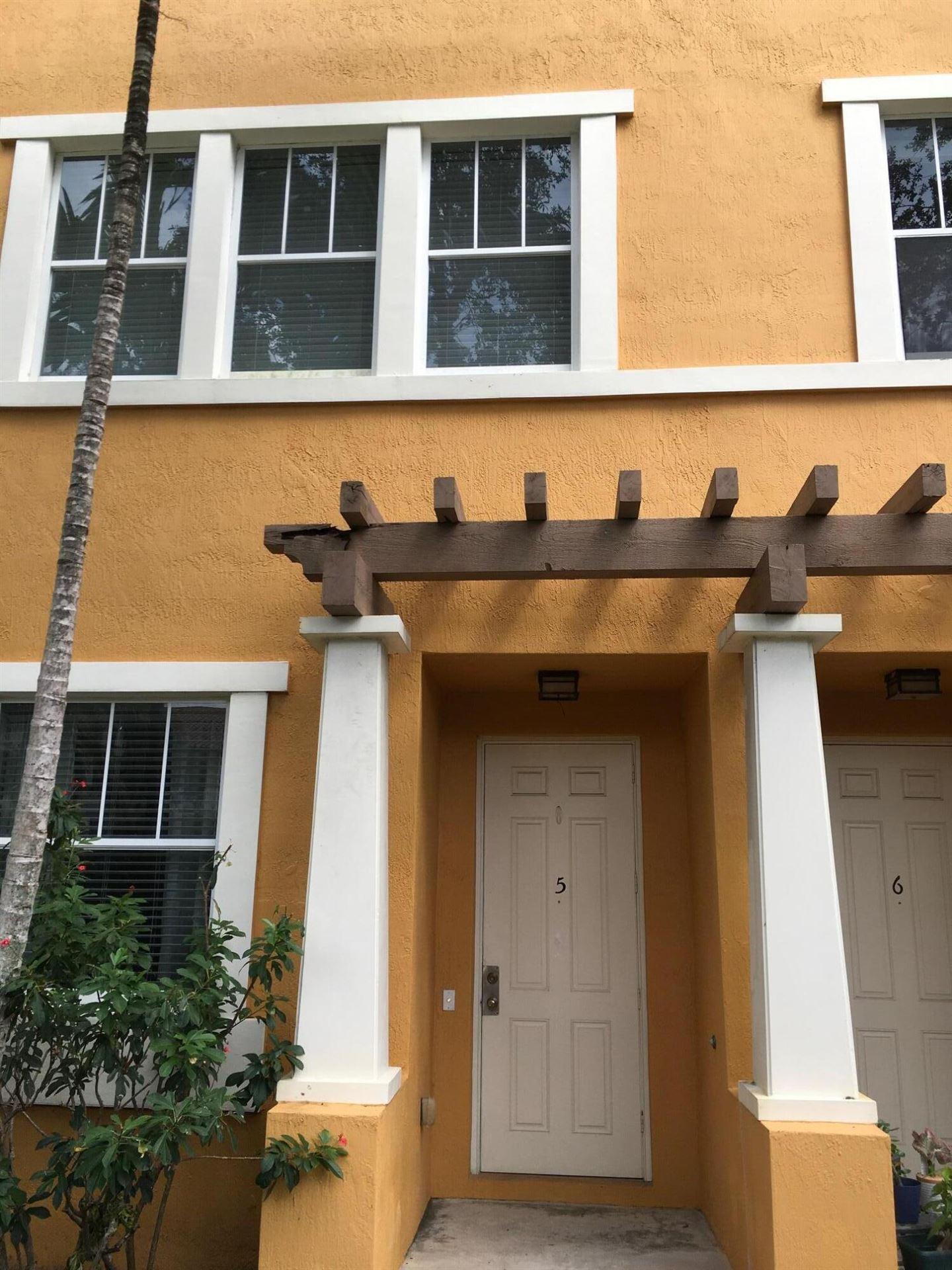 430 Amador Lane #5, West Palm Beach, FL 33401 - MLS#: RX-10751225