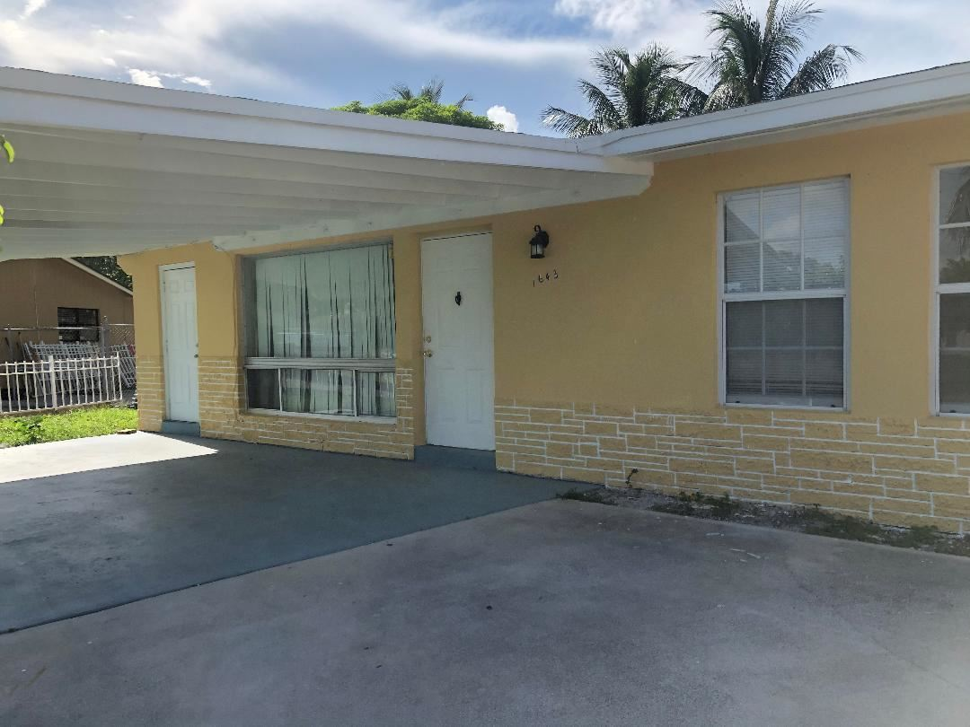 1643 44 St Th Street, West Palm Beach, FL 33407 - #: RX-10646227
