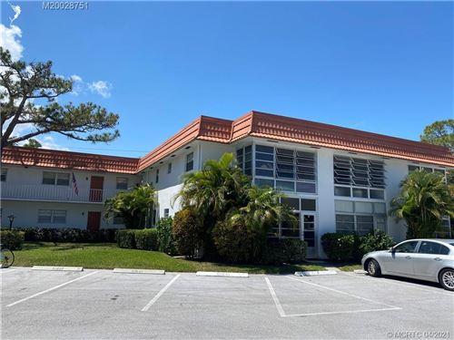 Photo of 2600 SE Ocean Boulevard #U-12, Stuart, FL 34996 (MLS # RX-10706228)