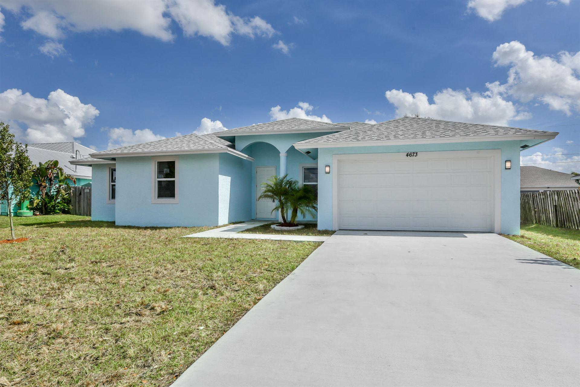 4673 SW Bradbury Street, Port Saint Lucie, FL 34953 - #: RX-10687228