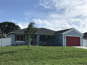 Photo of 1493 SW Herder Road, Port Saint Lucie, FL 34953 (MLS # RX-10507229)