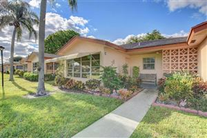 Photo of 14452 Canalview Drive #C, Delray Beach, FL 33484 (MLS # RX-10524229)