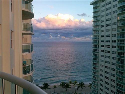 Photo of 3410 Galt Ocean Drive #1410 N, Fort Lauderdale, FL 33308 (MLS # RX-10704234)
