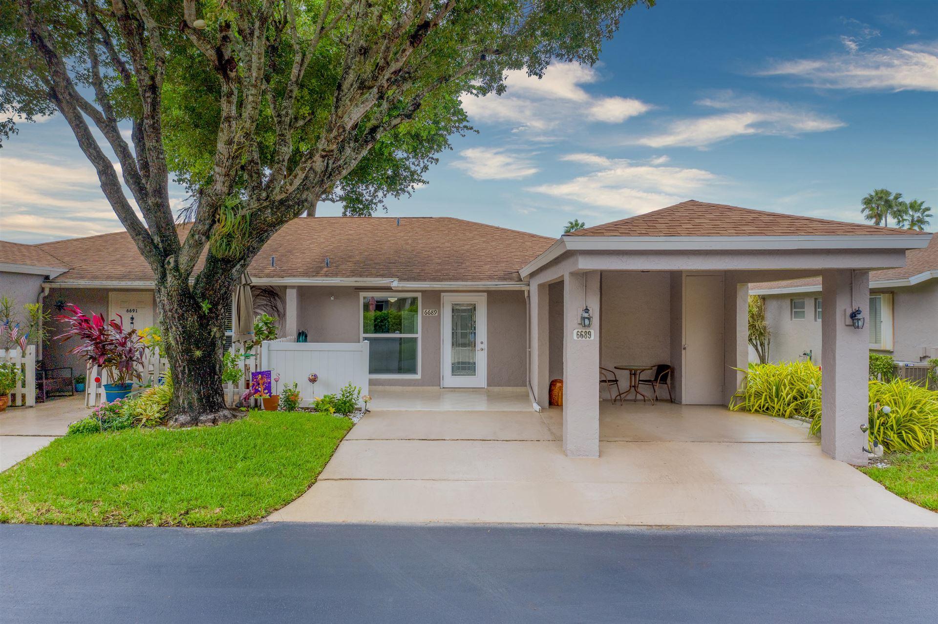 6689 Moonlit Drive, Delray Beach, FL 33446 - #: RX-10667235