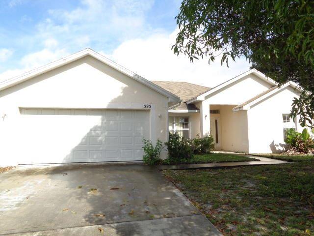 595 SW Ester Avenue, Port Saint Lucie, FL 34983 - #: RX-10669235