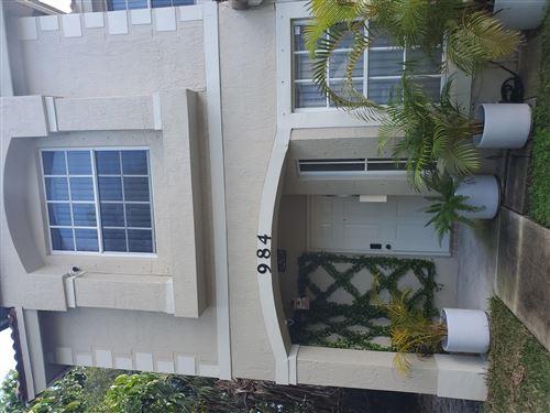 Photo of 984 Summit Drive, West Palm Beach, FL 33406 (MLS # RX-10726237)