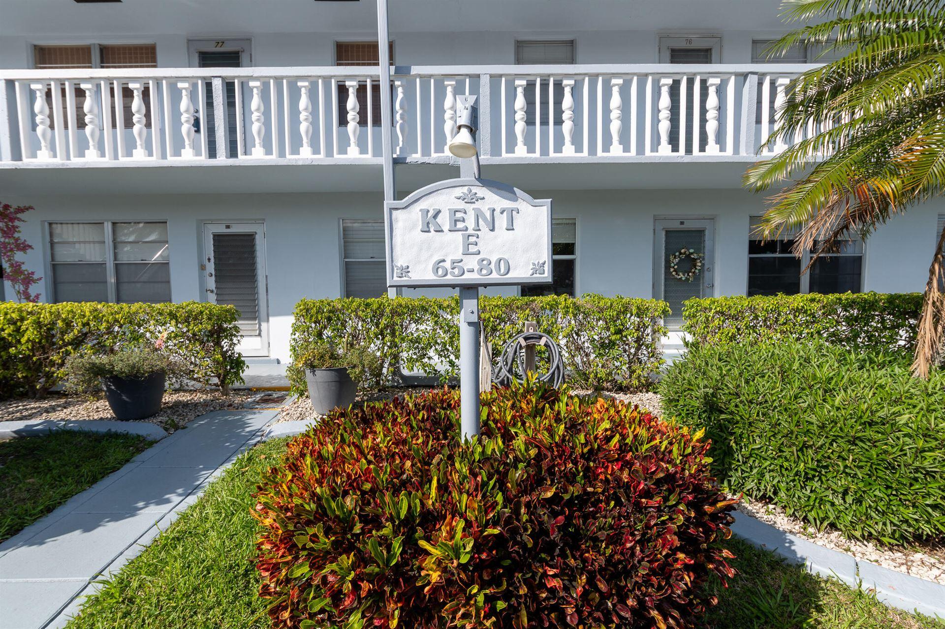 77 Kent E, West Palm Beach, FL 33417 - MLS#: RX-10700237