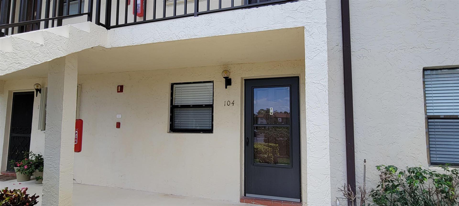 7118 Golf Colony Court #104, Lake Worth, FL 33467 - MLS#: RX-10715238
