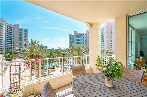 Photo of 3700 S Ocean Boulevard #507, Highland Beach, FL 33487 (MLS # RX-10703242)