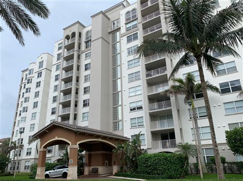 Photo of 3606 S Ocean Boulevard #601, Highland Beach, FL 33487 (MLS # RX-10656245)