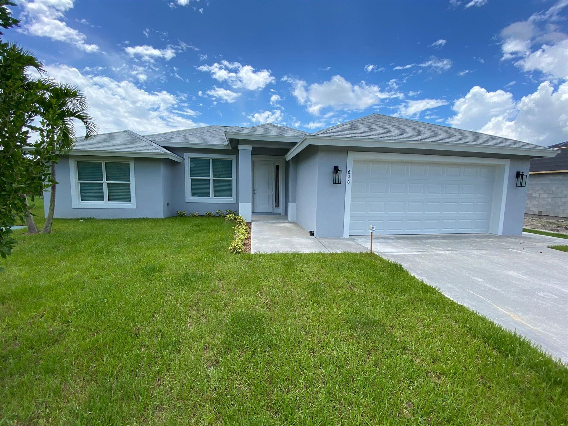 626 SE Karrigan Terrace, Port Saint Lucie, FL 34983 - MLS#: RX-10727245