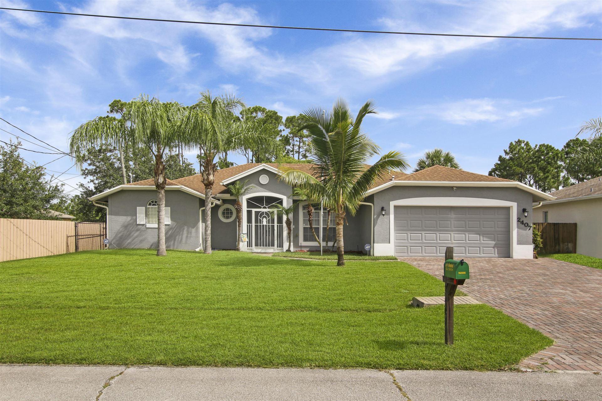 2407 SW Page Circle, Port Saint Lucie, FL 34953 - #: RX-10635247
