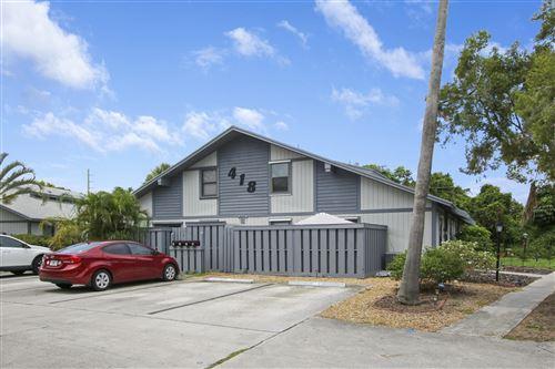 Photo of 418 N Cypress Drive #D, Tequesta, FL 33469 (MLS # RX-10729248)