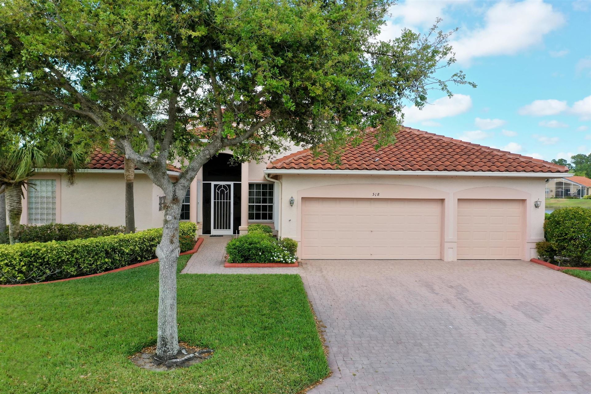 518 NW Blue Lake Drive, Port Saint Lucie, FL 34986 - #: RX-10612248