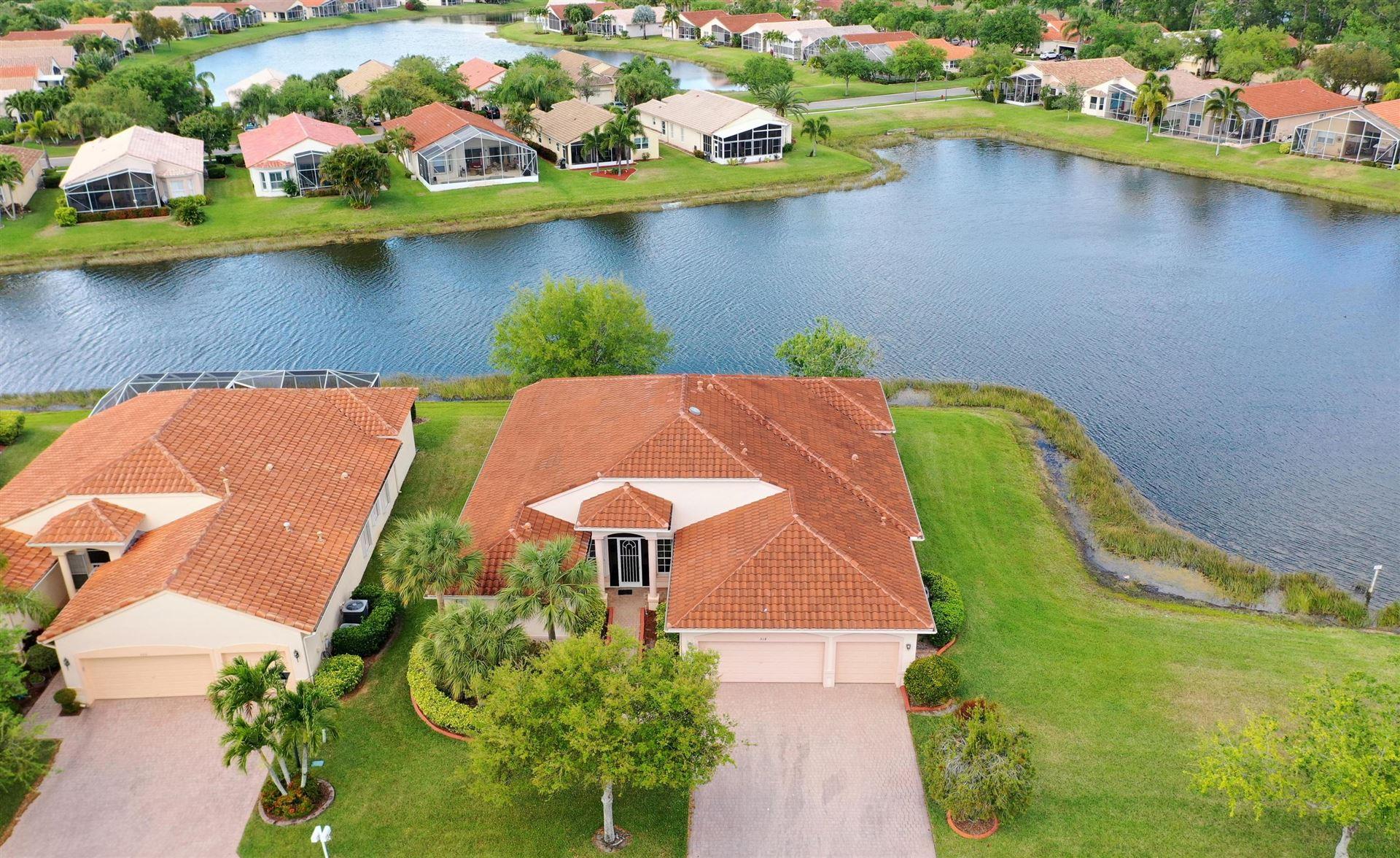 Photo of 518 NW Blue Lake Drive, Port Saint Lucie, FL 34986 (MLS # RX-10612248)