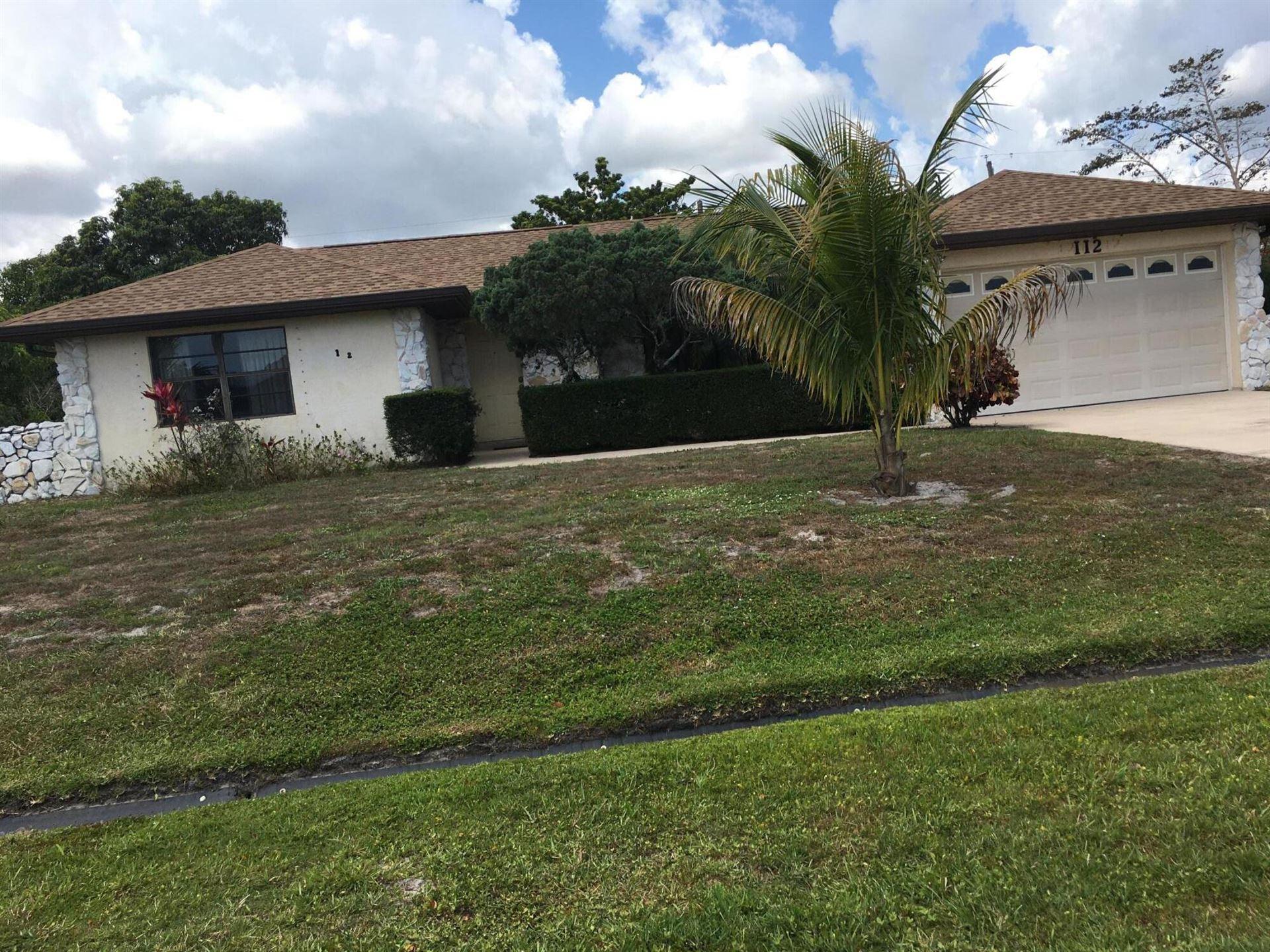 112 NW Curtis Street, Port Saint Lucie, FL 34983 - #: RX-10715248