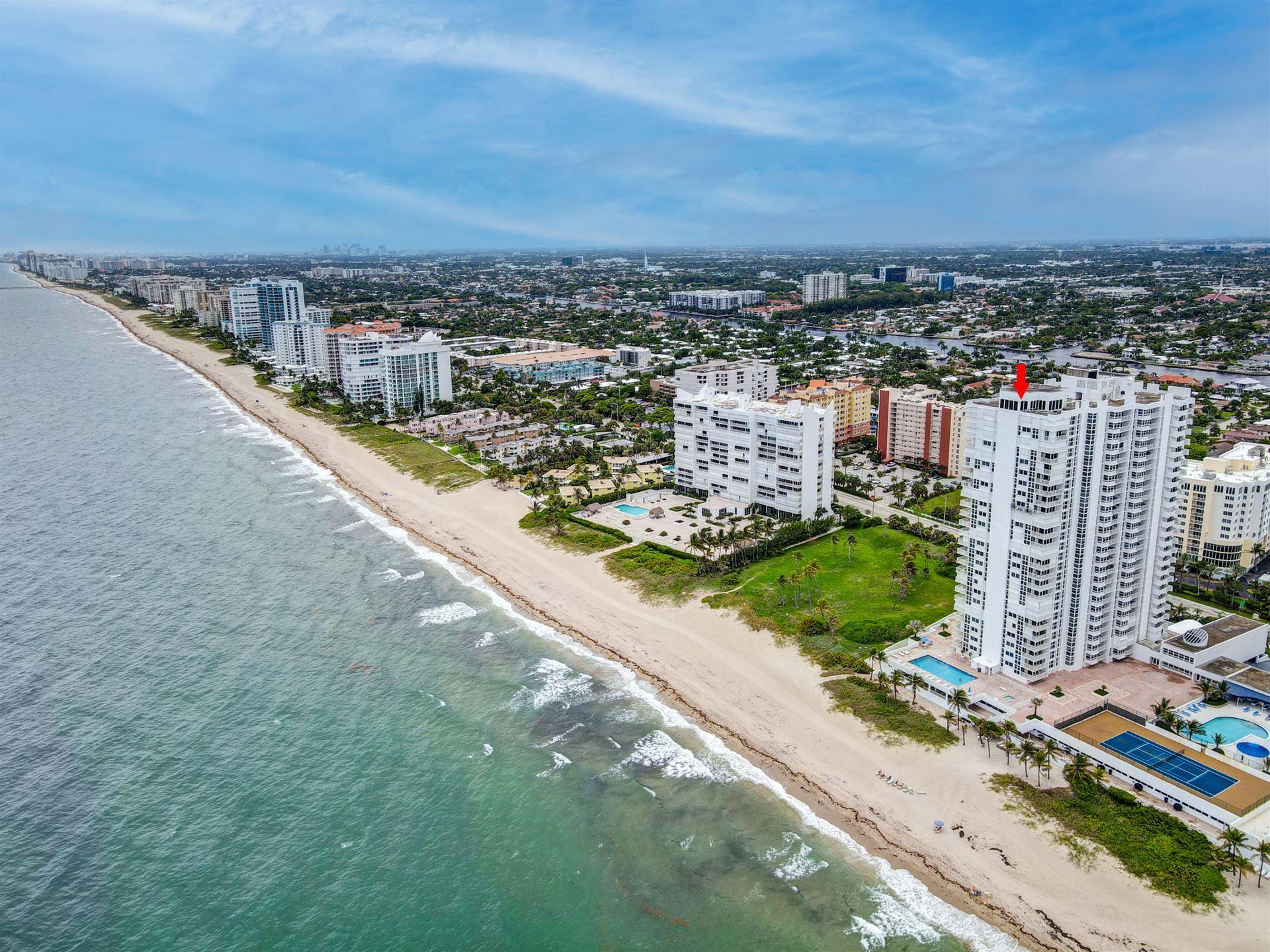 Photo of 1370 S Ocean Boulevard #2306, Pompano Beach, FL 33062 (MLS # RX-10736248)