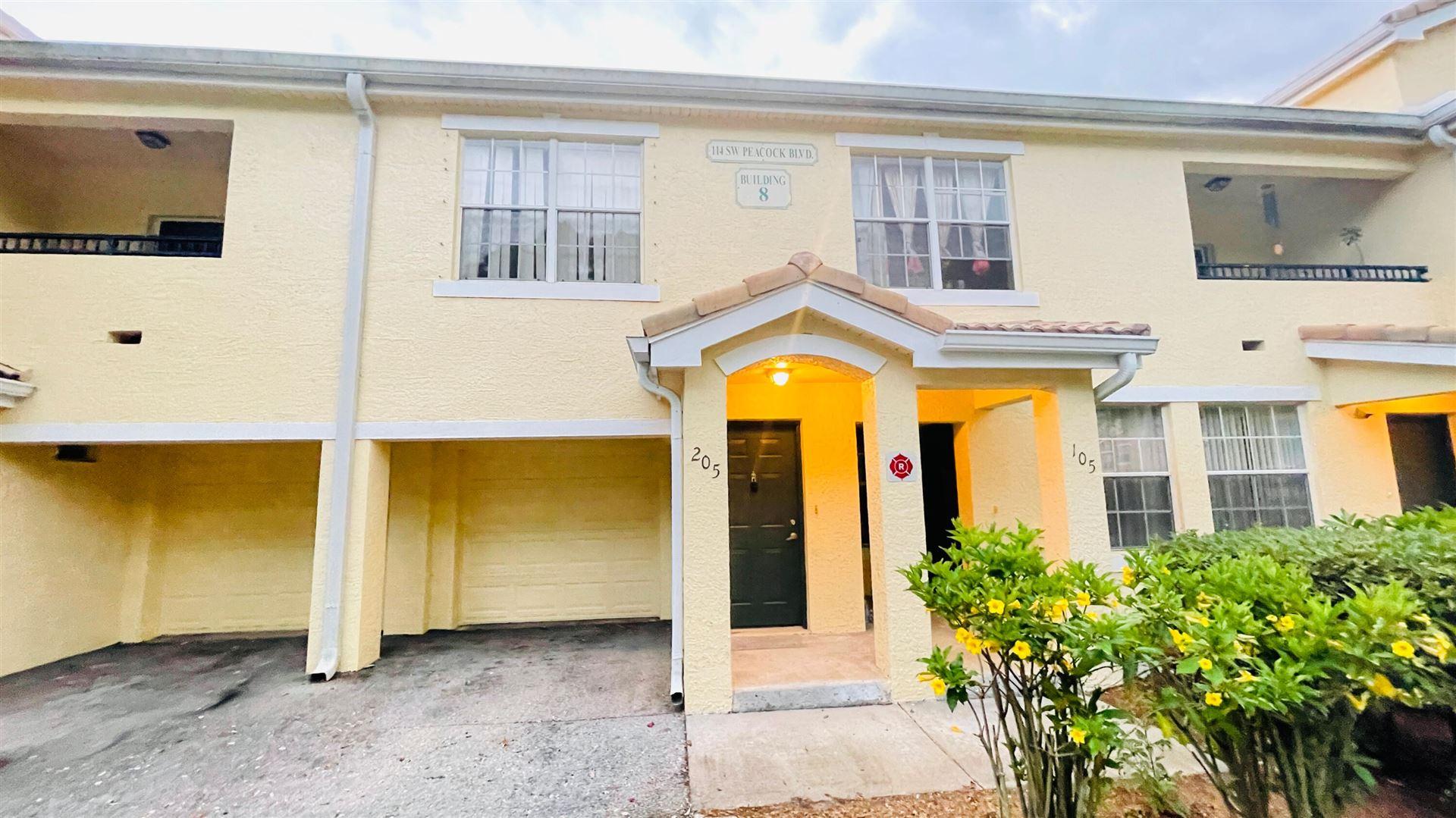 114 SW Peacock Boulevard #8-205, Port Saint Lucie, FL 34986 - #: RX-10707249