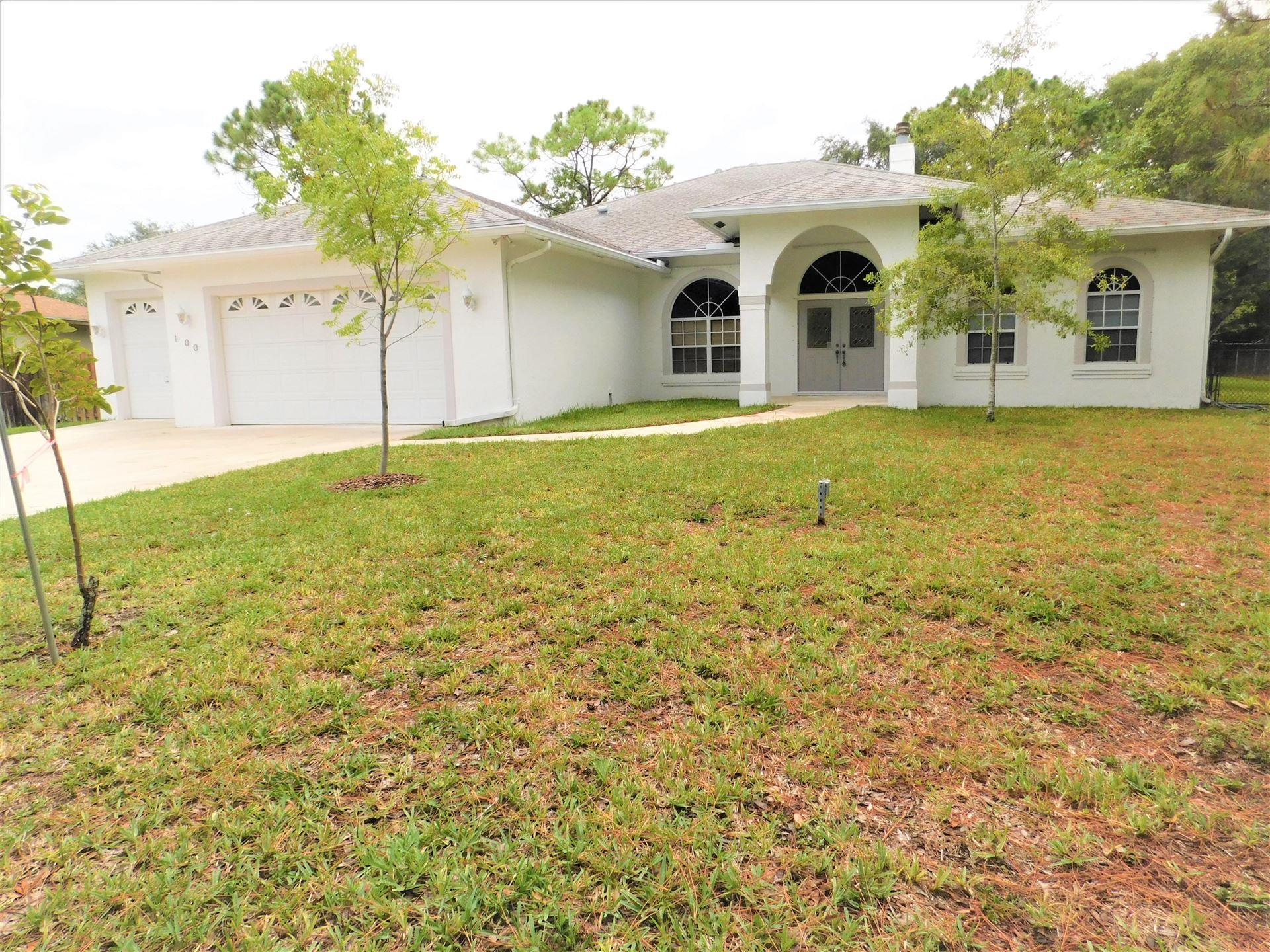 100 Emerald Court, Royal Palm Beach, FL 33411 - MLS#: RX-10725250
