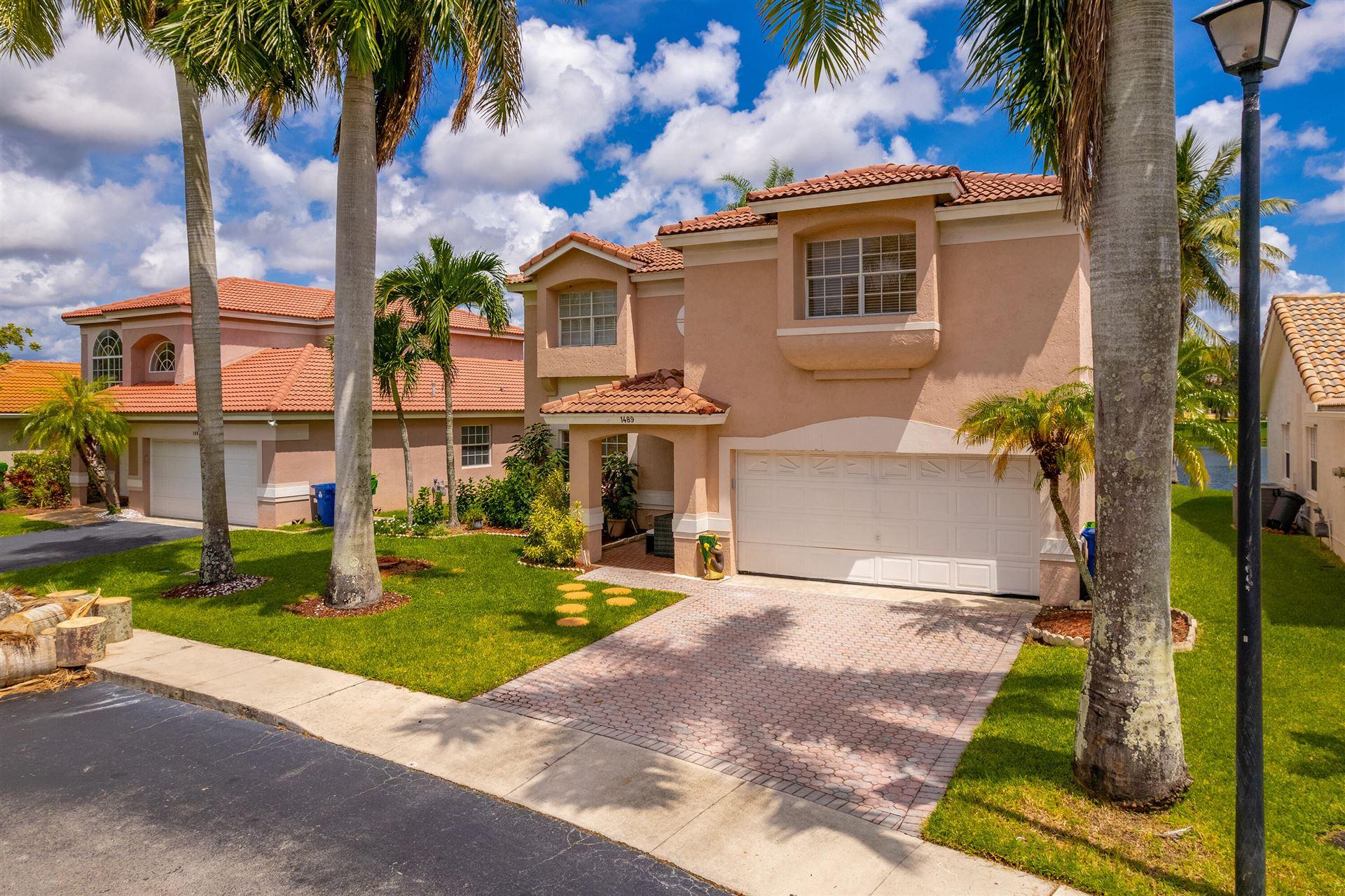 1489 NW 129 Way, Sunrise, FL 33323 - MLS#: RX-10746250