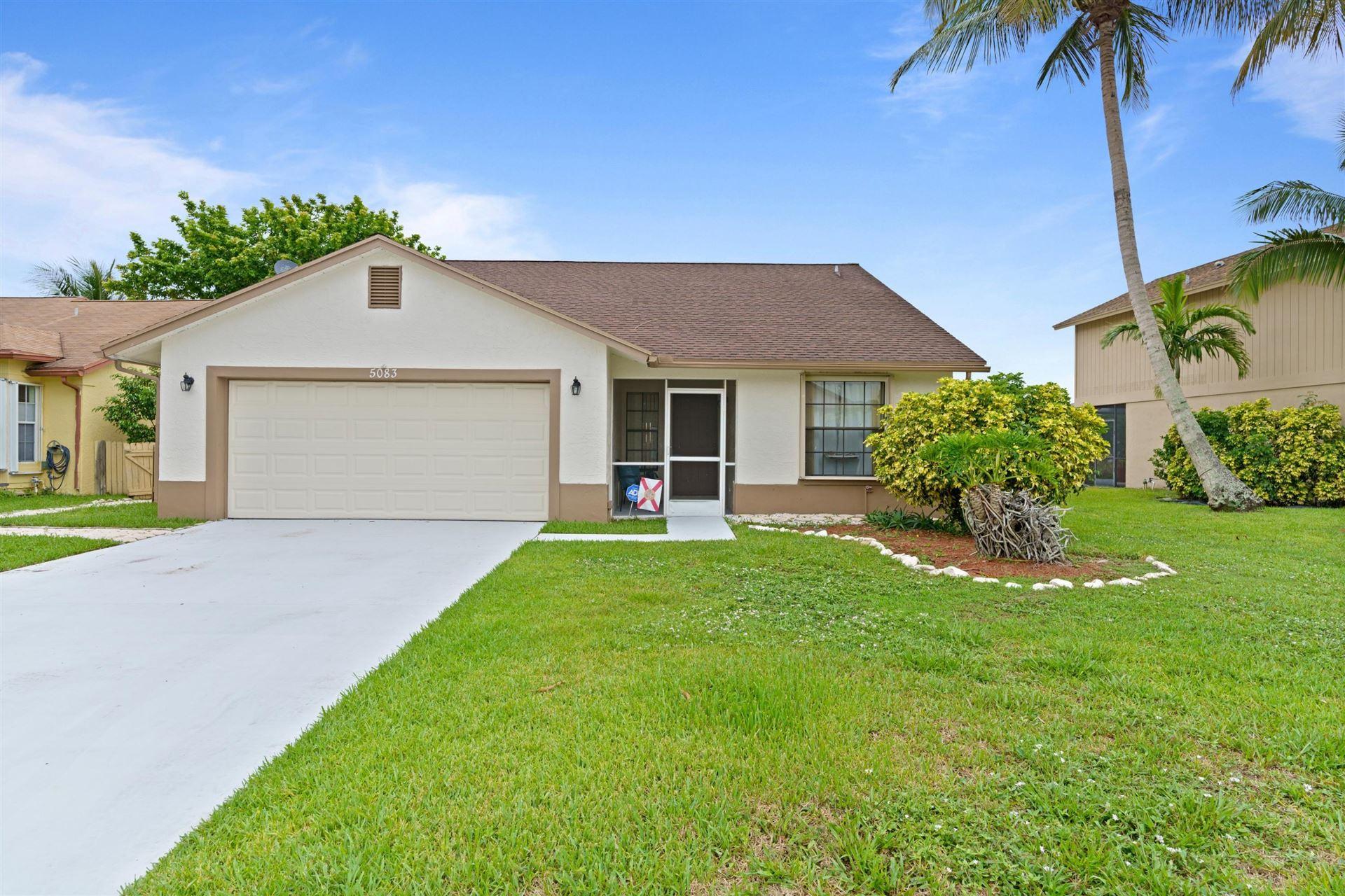 5083 Willow Pond Road W, West Palm Beach, FL 33417 - MLS#: RX-10722252