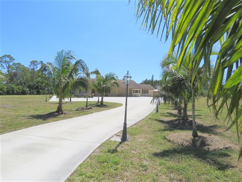Photo of 12838 North Road, Loxahatchee Groves, FL 33470 (MLS # RX-10666253)