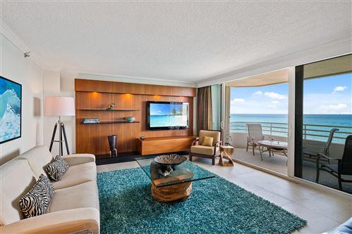 Photo of 3407 S Ocean 9a Boulevard #9a, Highland Beach, FL 33487 (MLS # RX-10687253)