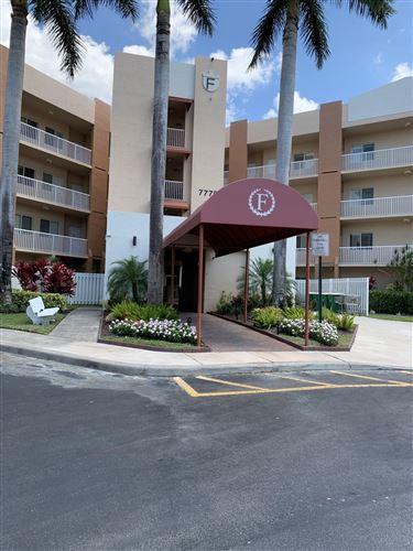 Photo of 7775 Yardley Drive #311, Tamarac, FL 33321 (MLS # RX-10614255)