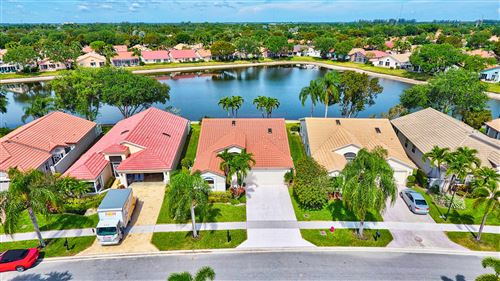 Photo of 9629 Harbour Lake Circle, Boynton Beach, FL 33437 (MLS # RX-10707256)
