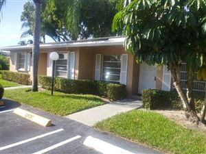 Photo of 1151 Boxwood Drive #39-B, Delray Beach, FL 33445 (MLS # RX-10578257)
