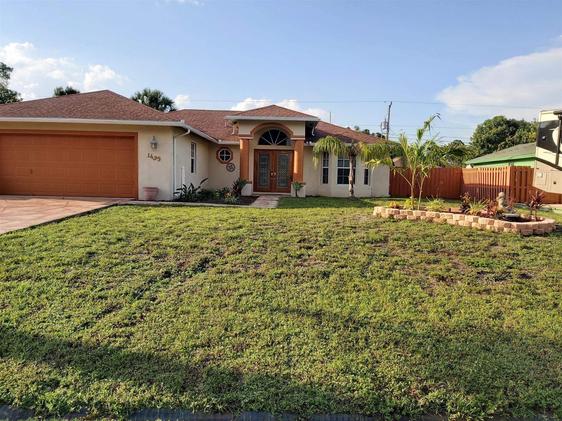 1499 SW Del Rio Boulevard, Port Saint Lucie, FL 34953 - #: RX-10624258