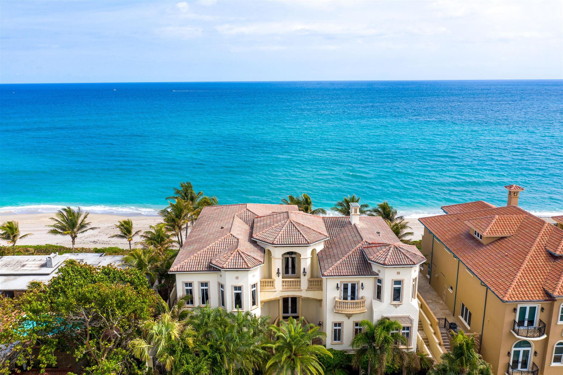 4117 S Ocean Boulevard, Highland Beach, FL 33487 - #: RX-10689258