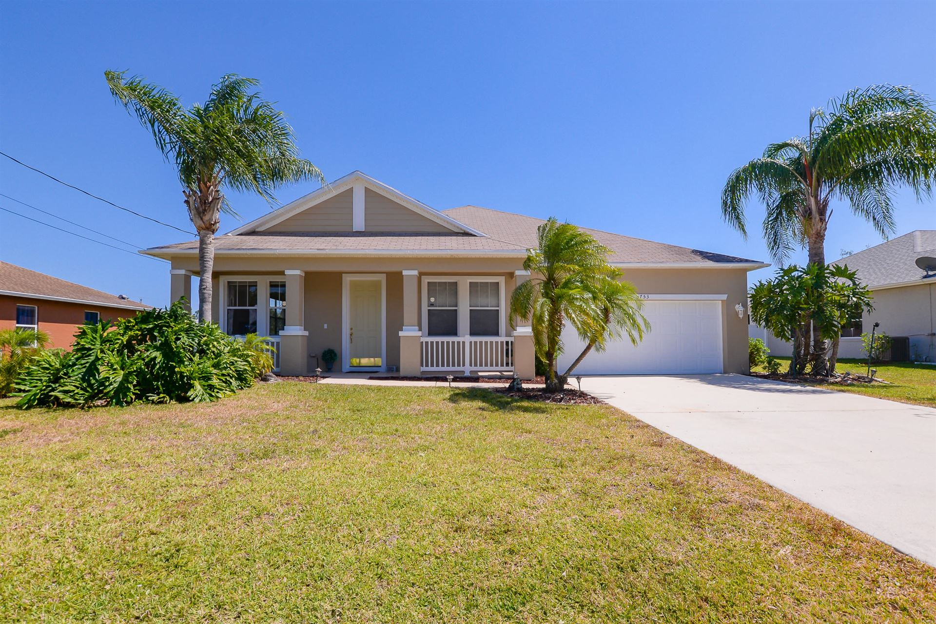 5753 NW Belwood Circle, Port Saint Lucie, FL 34986 - MLS#: RX-10708259