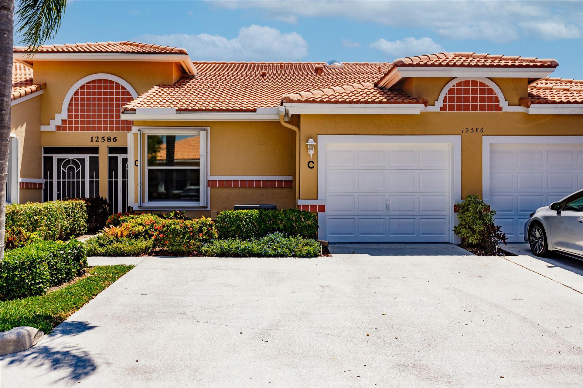 12586 Crystal Pointe Drive #C, Boynton Beach, FL 33437 - MLS#: RX-10714259
