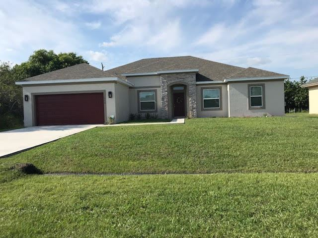 1058 SW Haleyberry Avenue, Port Saint Lucie, FL 34953 - #: RX-10695260
