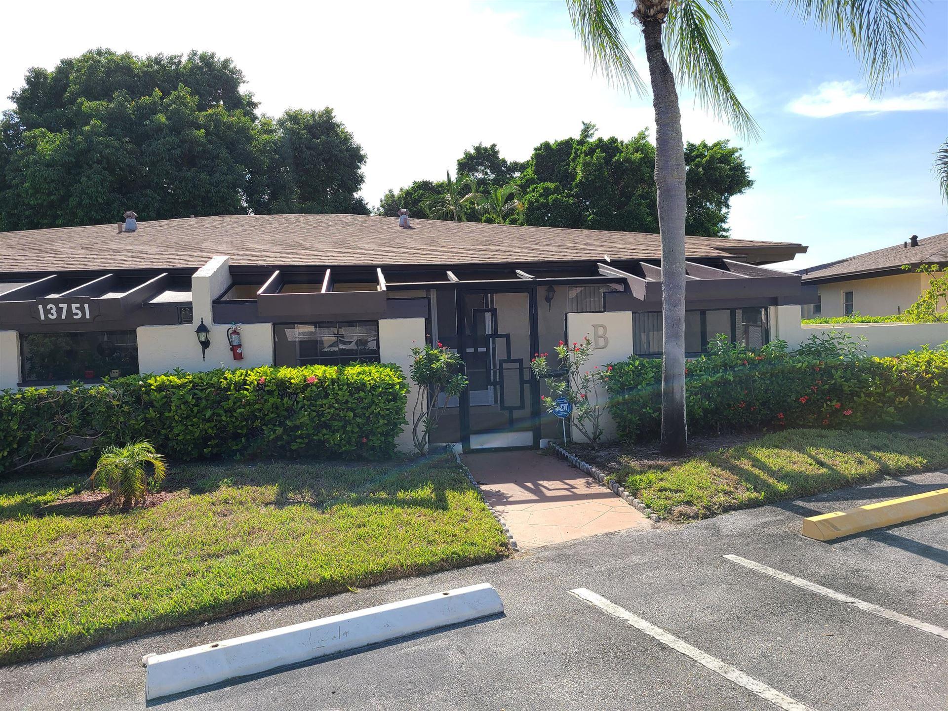13751 Via Aurora #B, Delray Beach, FL 33484 - MLS#: RX-10745260