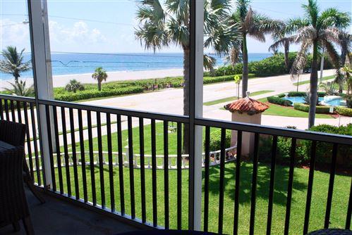 Photo of 2871 N Ocean Boulevard #C301, Boca Raton, FL 33431 (MLS # RX-10636264)