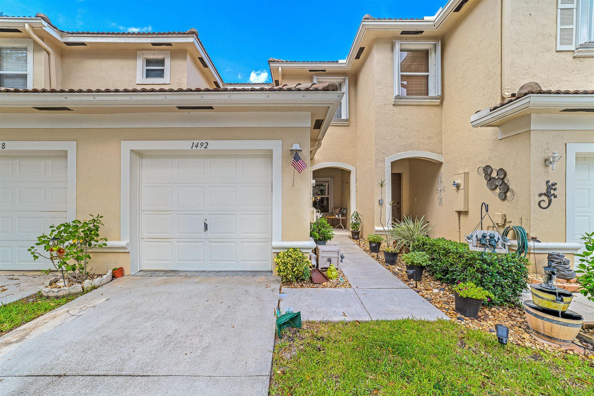1492 New Castle Terrace, Wellington, FL 33414 - #: RX-10658265