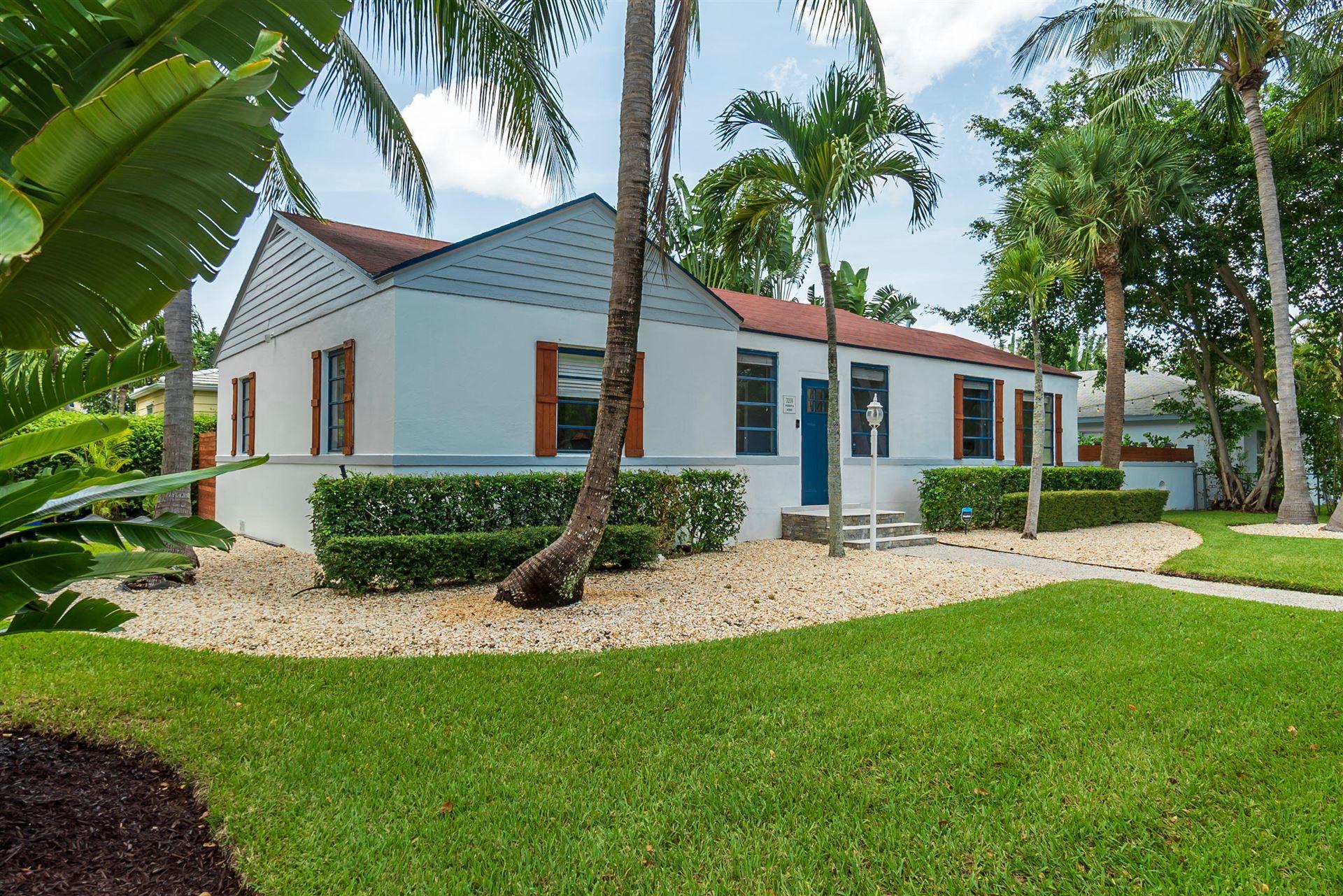 3201 Poinsettia Avenue, West Palm Beach, FL 33407 - #: RX-10594266