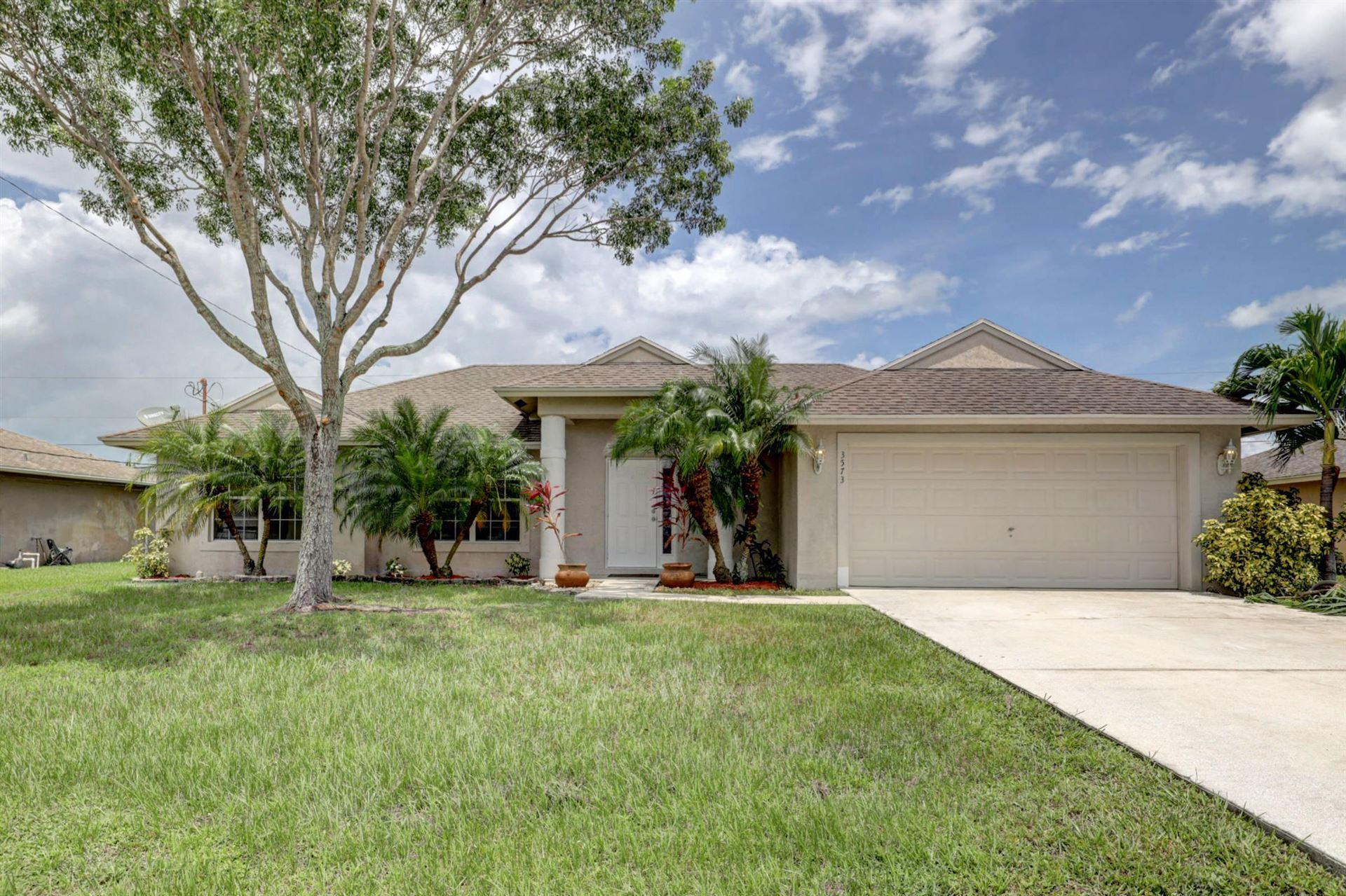 3573 SW Vincennes Street, Port Saint Lucie, FL 34953 - #: RX-10636266