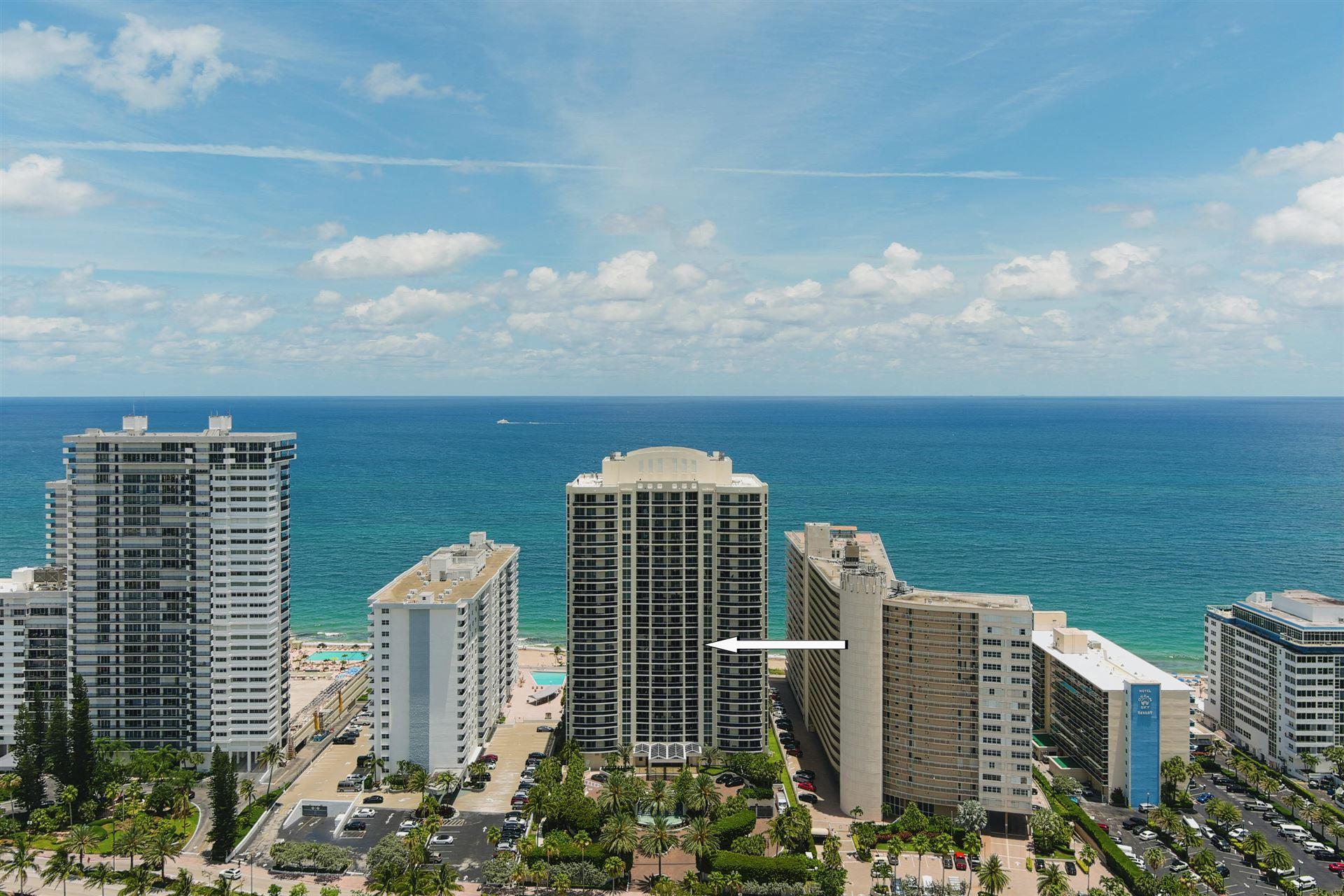 Photo of 4240 Galt Ocean Drive #1004, Fort Lauderdale, FL 33308 (MLS # RX-10717267)