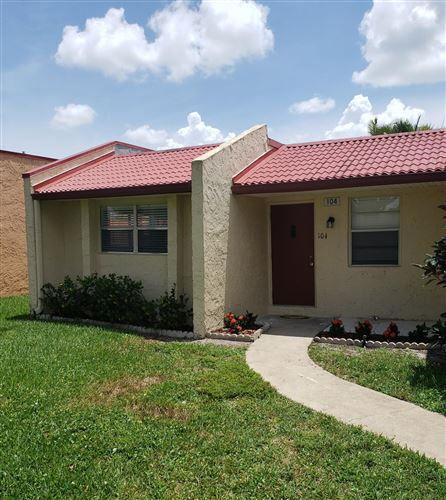 Photo of 104 Lake Irene Drive, West Palm Beach, FL 33411 (MLS # RX-10733268)